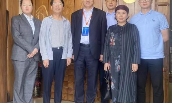 刘能文一行调研广州木业企业